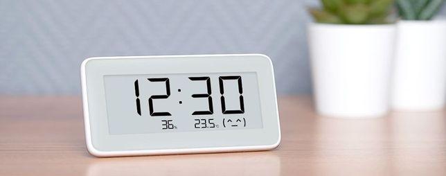Часы-датчик температуры и влажности Xiaomi Mijia LYWSD02MMC 1400 руб.