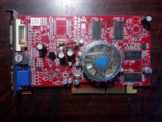 Видеокарта AGP 8х ATI Radeon 9550, 128MB , 128-bit, VGA/ DVI