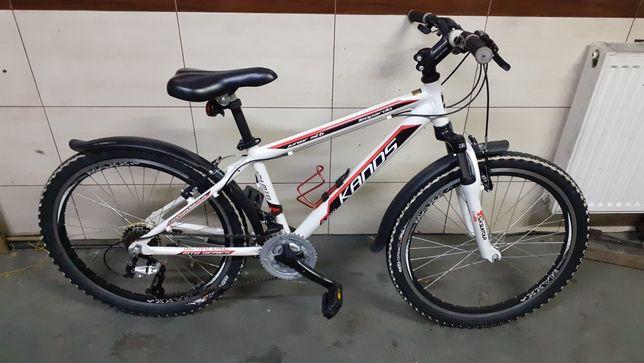 Rower górski Kands Leopardo 24 Aluminiowa rama Shimano 3x7 Amortyzator