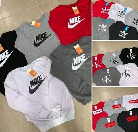 Bluzy damskie i męskie z logo Boss Adidas Nike Levi's kolory S-XXL!!!