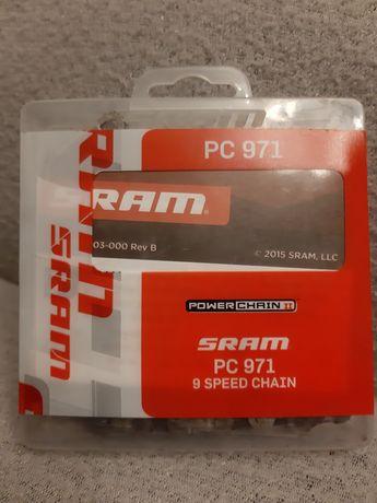 Łańcuch rowerowy PowerChain Sram PC 971 - 9 Speed Chain