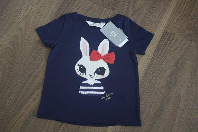 Дитячий одяг,футболка на дівчинку h&m