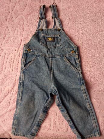 Полукомбинезон, штаны с лямками, на ребенка 18 мес (1,5 года)
