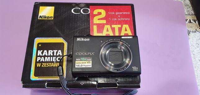 Aparat Nikon Coolpix S6200!Gratis!