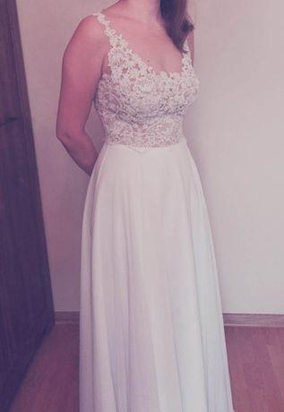 Suknia ślubna rozmiar 34/36 biała