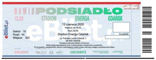 Dawid Podsiało bilety Gdańsk 05.06.2021