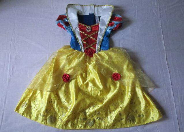 Sukienka karnawałowa Śnieżka r 98-104, 3-4l Disney