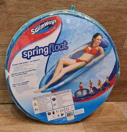 Nowy pływający materac SwimWays Spring Float Original