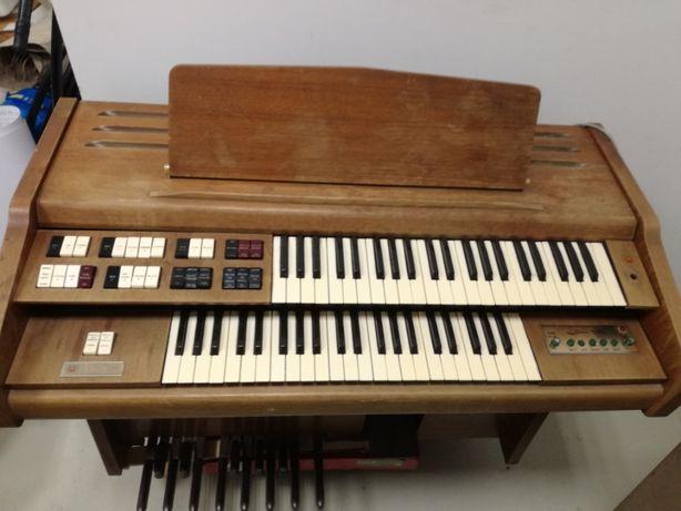 Organy Wurlitzer z leslie, lata 60te, prawdziwy analog