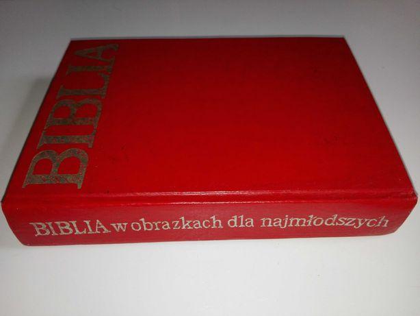 Biblia dla najmłodszych-piękne wydanie