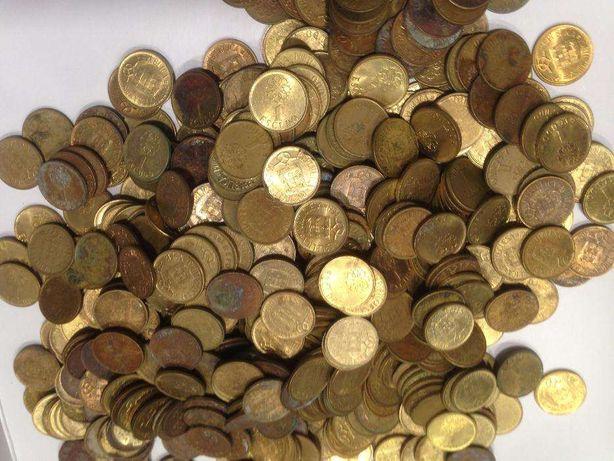 Moedas de 1$00 Latão/Niquel ao Kilo (Mod.Menor)