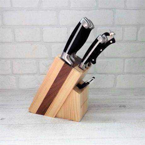 Набор Ножей на деревянной подставке Edenberg EB-3612, 9 предметов