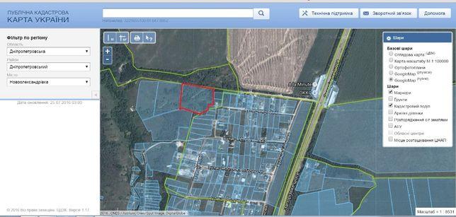 Земельный участок в Новоалександровке