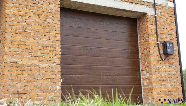 Гаражні підйомні секційні автоматичні розумні ворота в особняк GANT