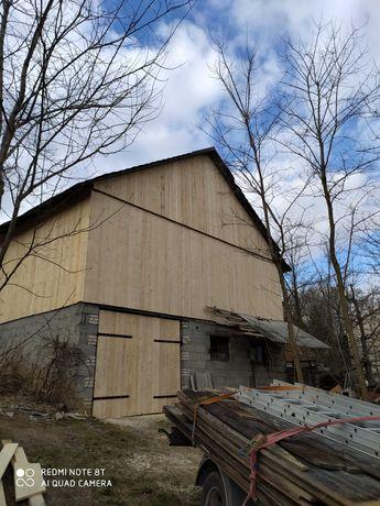 Rozbiórki stodół,starych domów,skup starego drewna,wymiana desek