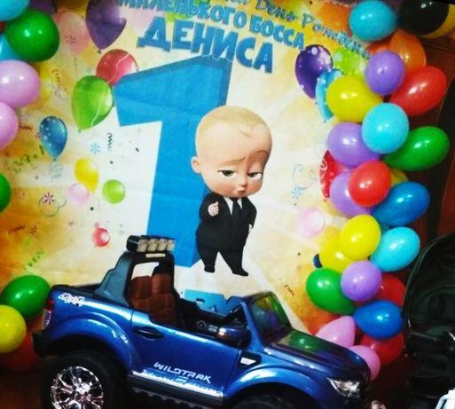Баннер Baby Boss 500 грн