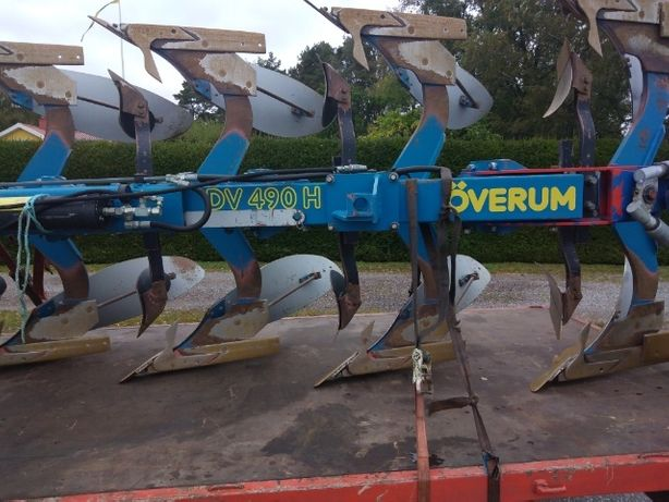 Pług Overum Överum 4 skibowy obrotowy