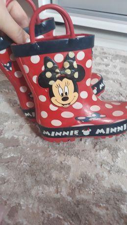 Резиновые сапоги Кроксы, Crocs, Disney Minnie mouse