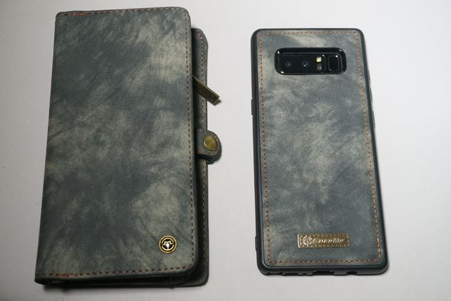 Кошелек клатч 2 в1 (магнитный чехол Samsung Note8)