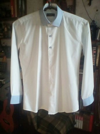 Рубашкадля мальчика 11-12лет, сорочка в школу, р.146-158
