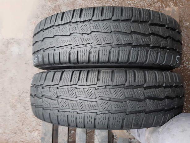 Opony zimowe 195.75.16c bus Michelin para