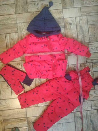 Пуховик, Комбез, куртка на девочку, зимний костюм
