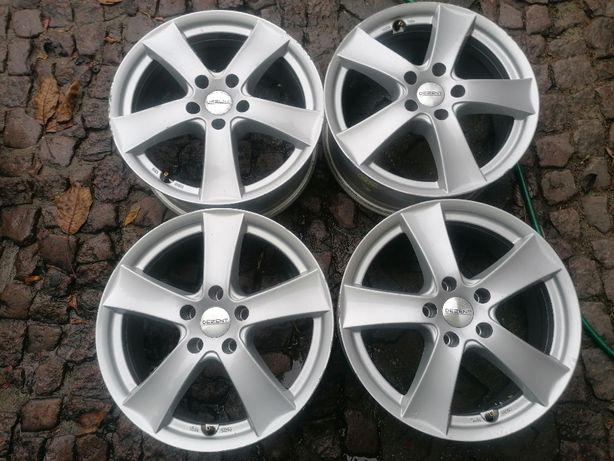 """Felgi aluminiowe DEZENT 17"""" 5x112x57,1 ET 38 VW Skoda Audi Seat"""