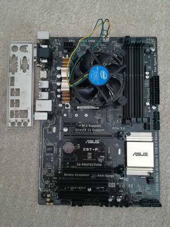 Bundle Asus Z97-P + I5 4440
