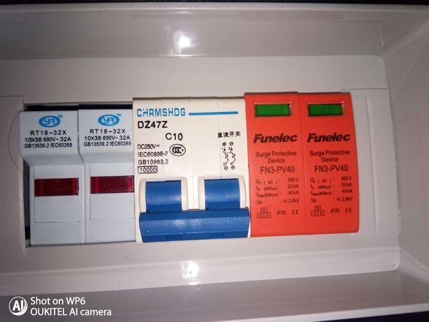 Kit proteção painéis solares fotovoltaicos