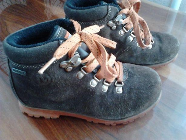 Ботинки демисезонные MERRELL, размер-31, 19см, замша, б/у