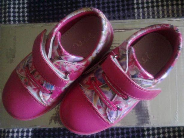 красивенные кроссовки-туфли ,ортопед стелька 16 см.