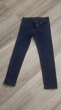 Spodnie Dżinsy jeansy granatowe