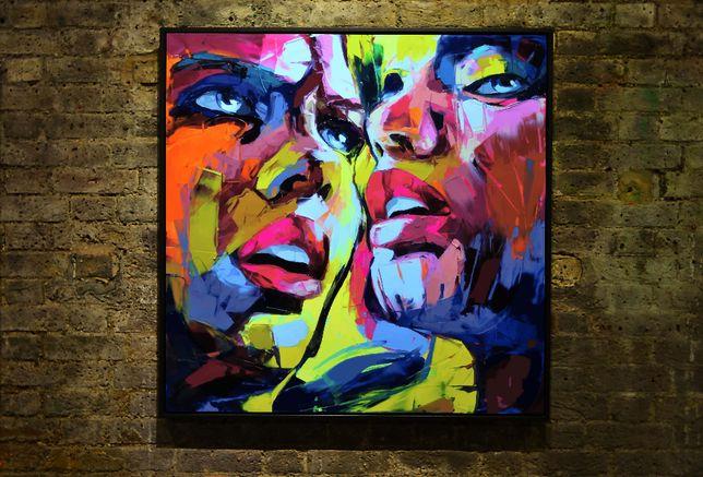 Obraz na płótnie 70x70cm nowy art loft ( hostel nocleg) plakat wydruk