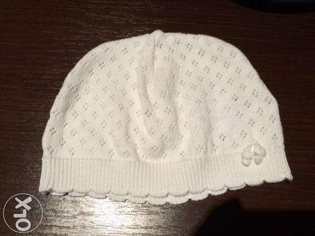 Шапочка весенняя Mothercare размер 6-9 месяцев шапка для девочки