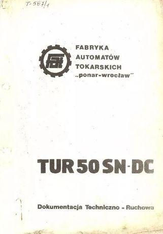 DTR TUR 50-SNDC dokumentacja techniczno ruchowa