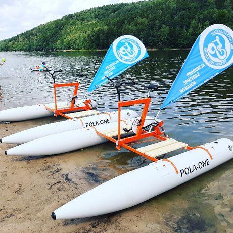 Rower wodny jednoosobowy Pola-one 7100zł netto (8700 brutto)