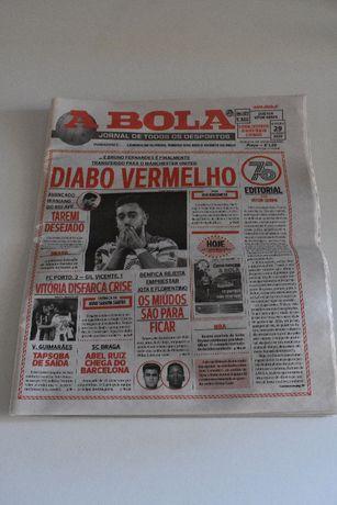 Vendo Jornal A Bola 29 Janeiro 2020 - Especial 75.º Aniversário