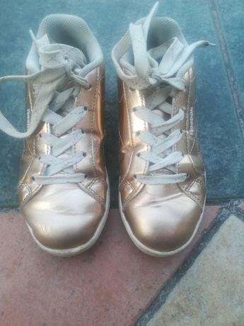 Adidasy złote dla dziewczynki REEBOK rozm.30