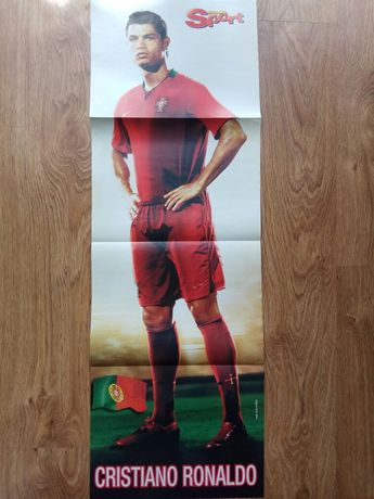 Plakat Cristiano Ronaldo / Artur Boruc