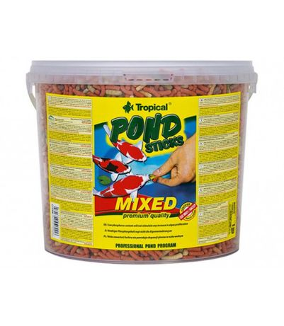 Tropical Pond Sticks Mixed 5L- 450g