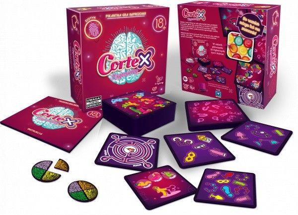 Gra Cortex Niegrzeczny - tylko dla dorosłych REBEL