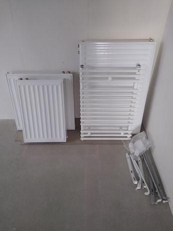 Grzejniki komplet do mieszkania (pokojowe i łazienkowy)