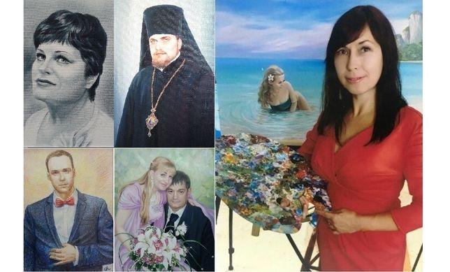 Профессиональные портреты и картины на заказ (Запорожье)