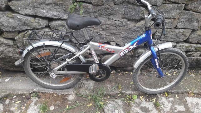 rower 20 calowy dla chłopca