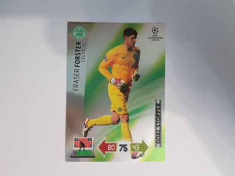 FORSTER Goal Stopper Champions League 2012/2013 Update Panini
