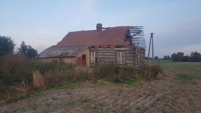 Oddam drewniany dom do rozbiórki