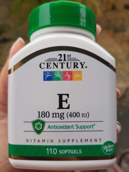 Витамин Е 180 Мг 400 IU 21st Century 110 Капсул, Vitamin E Киев - изображение 1