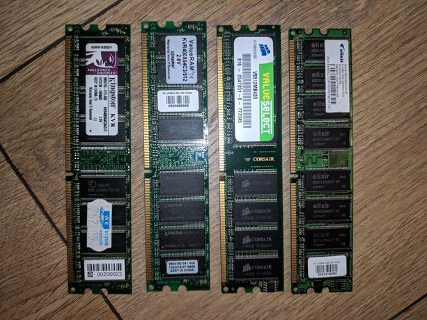 Pamięć ram 4 x 512mb DIMM3