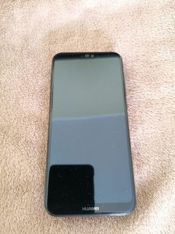 Huawei P20 Lite kolor czarny + oryginalne etui Flip Cover