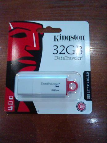 Флешка USB 32GB Kingston Data Traveler G4 (DTIG4/32GB) Новая